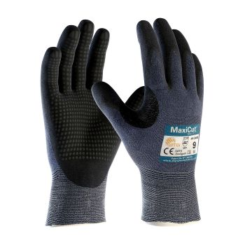 PIP 44-3445/S ATG Seamless Knit Engineered Yarn Glove with Premium Nitrile Coated MicroFoam Grip on Palm & Fingers Micro Dot Palm Small 6 DZ