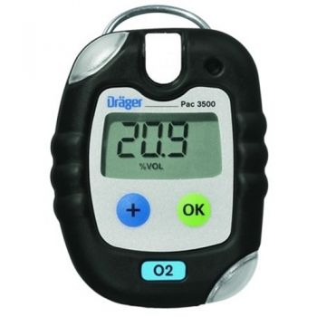 Draeger 4543959 Pac® 3500 O2 Single Gas Monitor
