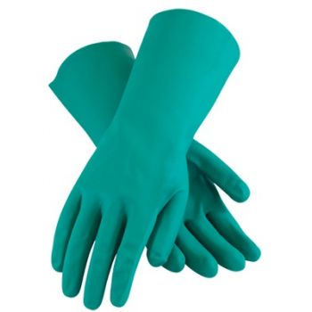 MAPA 490 15 mil Chemical Resistant Nitrile Gloves with Embossed Diamond Grip 72 Pairs