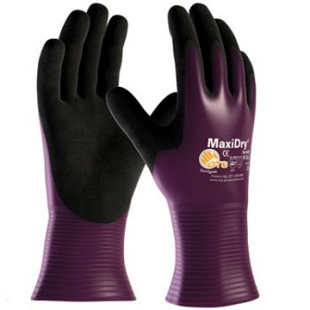 PIP MaxiDry Ultra Light Weight Nitrile Coated Gloves - Full Coating 12/Pairs