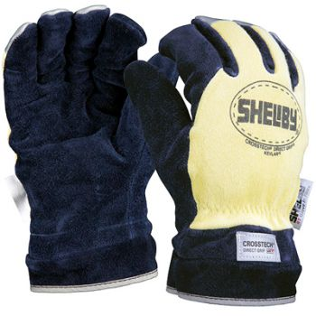 Shelby Crosstech Direct Grip Gauntlet Fire Gloves