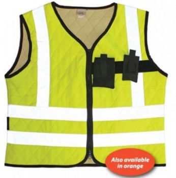 Cool Medics High Visibility Cooling Vest with Pockets