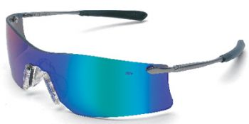 MCR Rubicon Safety Glasses with Emerald Mirror Lens 12 Pair