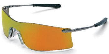 MCR Rubicon Safety Glasses with Fire Mirror Lens 1 Pair