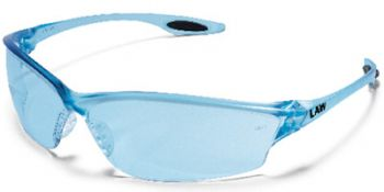 Law2 Safety Glasses with Light Blue Lens (Box of 12)