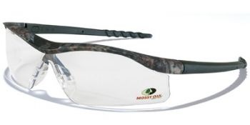 Dallas Safety Glasses with Mossy Oak Camo Frame and Clear Lens