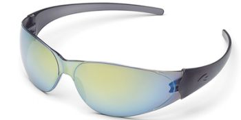 Checkmate Safety Glasses with Rainbow Mirror Lens