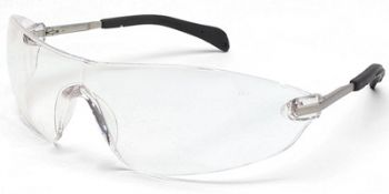Blackjack Elite Small Safety Glasses with Clear Anti-Fog Lens