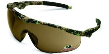 Storm Safety Glasses with Mossy Oak Camo Frame and 1244 Lens