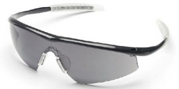 Tremor Safety Glasses with Onyx Frame and Gray Lens