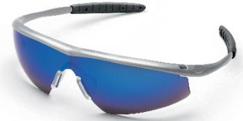 MCR Tremor Glass-Steel, Blue Mirror Lens 12 Pair