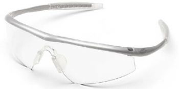 Tremor Safety Glasses with Steel Frame and Clear Lens