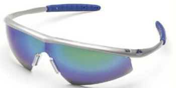 Tremor Safety Glasses with Steel Frame and Emarld Green Mirror Lens