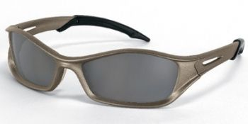 Tribal Safety Sunglasses with Champagne Frame and Grey Anti-Fog Lens