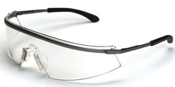 Triwear Metal Safety Glasses with Clear Anti-Fog Lens