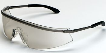 Triwear Metal Safety Glasses with Indoor/Outdoor Mirror Anti-Fog Lens