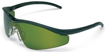 Triwear Safety Glasses with Onyx Frame and Green 3.0 IR Lens