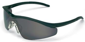 Triwear Safety Glasses with Onyx Frame and Grey Anti-Fog Lens