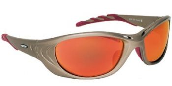 3M™ Fuel™ 2 Protective Eyewear 11650-00000-10 Red Mirror Lens, Metallic Sand Frame 10 EA/Case