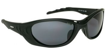 Fuel 2 Safety Glasses with Black Frame and Gray Anti-Fog Lens