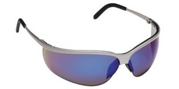 Metaliks Sport Safety Glasses with Blue Mirror Lens