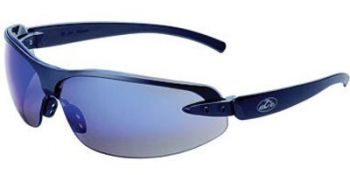 OCC1200 Safety Glasses with Blue Mirror Lens