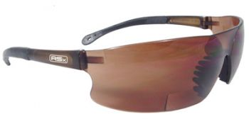 Rad-Sequel Bifocal Safety Glasses with Coffee Lens