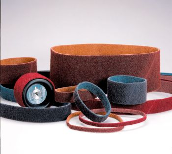 Standard Abrasives™ Surface Conditioning RC Belt 888082, 1/2 in x 12 in MED, 10 per case
