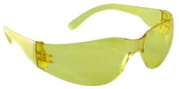 Mirage Small Safety Glasses with Amber Lens