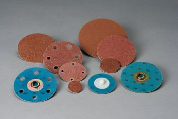 Standard Abrasives™ Quick Change Aluminum Oxide Extra 2 Ply Disc, 522158, TS, 3/4 in 120, 50 per inner, 200 per case