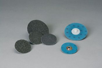 Standard Abrasives™ Quick Change TS S/C 2 Ply Disc 522218, 1 in 80, 50 per inner 200 per case