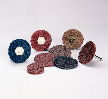 Standard Abrasives™ Quick Change TR Surface Conditioning FE Disc 840581, 4 in CRS, 25 per inner 250 per case
