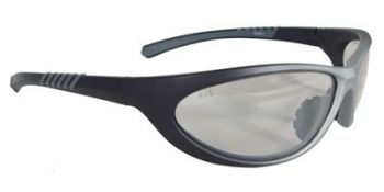 Paradox Safety Glasses with 1236/Black Frame and Indoor/Outdoor Lens