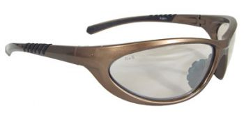 Radians Paradox Safety Glasses Mocha Frame Indoor/Outdoor Lens 12/Pairs