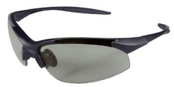 Rad-Infinity Safety Glasses with Black Frame and Indoor/Outdoor Lens