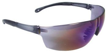 Radians Rad-Sequel Safety Glasses with Blue Mirror Lens 12 Pairs