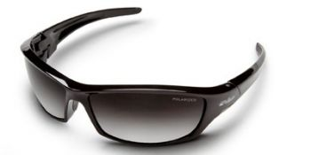 Edge Reclus Safety Glasses with Black Frame and Polarized Gradient Lens