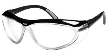 Jackson Safety Envision Safety Glasses with Black Frame and Clear Anti-Fog Lens 12 Pairs