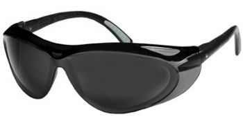 Jackson Safety Envision Safety Glasses with Black Frame and Smoke Lens 12 Pairs