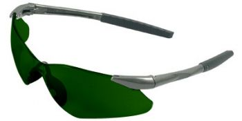 Jackson Safety Nemesis VL Safety Glasses with IR 5.0 Lens Green Color 12 Pairs