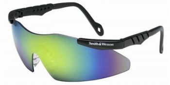 Jackson Safety Smith and Wesson Magnum Safety Glasses with Gold Mirror Lens 12 Pairs