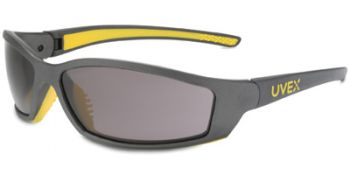 Solar Pro Safety Glasses with Gray Anti-Fog Lens