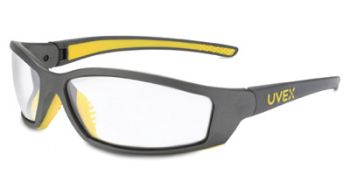 Solar Pro Safety Glasses with Clear Anti-Fog Lens