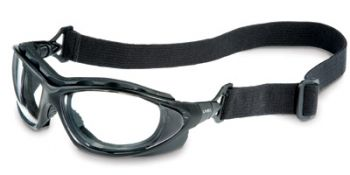 Uvex Seismic Safety Goggle with Clear Anti-Fog Lens