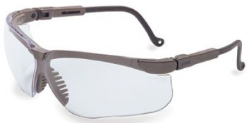 Genesis Safety Glasses with Earth Frame and Clear Lens 10 Pairs