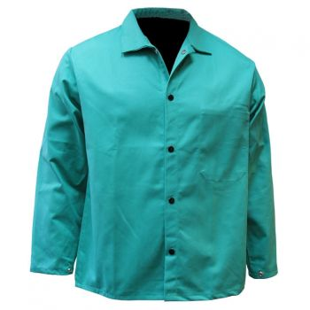 "CPA 600-GR-DOM 30"" Domestic Green FR Jacket"