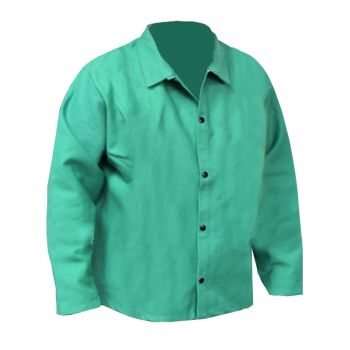 "CPA 600-GW 30"" Heavyweight Green FR Cotton Jacket"