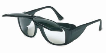 Horizon Safety Glasses with Shade 5.0 Flip-Up Lens