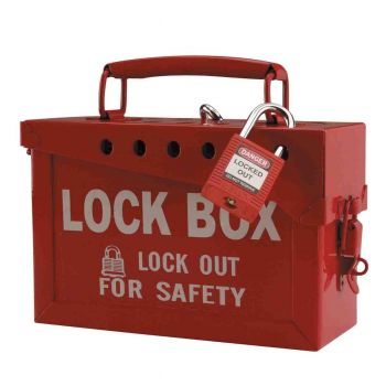 Brady® Portable Metal Group Lockout Box | 65699