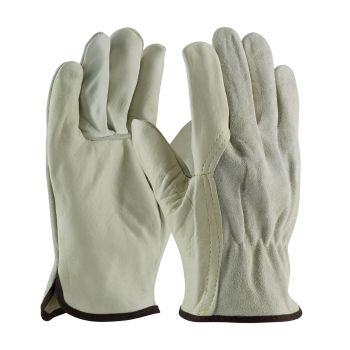 PIP 68 162SB Unlined Leather Drivers Gloves Top Grain Cowhide 120/Pairs